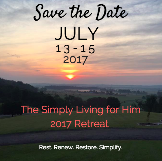 Simply Living for Him Retreat