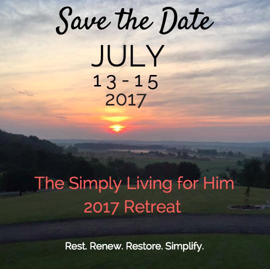 Simply Living for Him Retreat