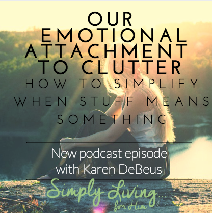 Emotions and Clutter