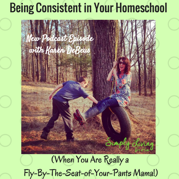 Podcast Consistent homeschool
