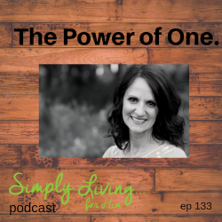 The Power of One•ep 133