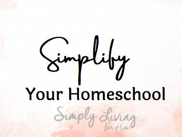 Simplify homeschool