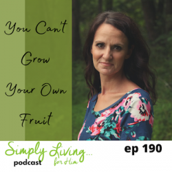 You Can't Grow Your Own Fruit//ep190