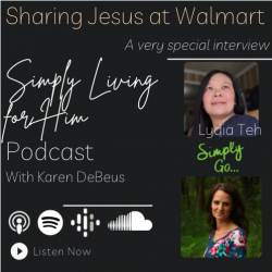 Sharing Jesus at Walmart //ep 214