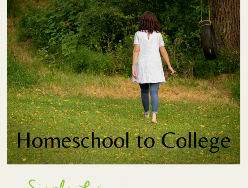 homeschool to college