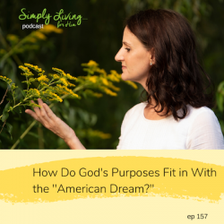 """How Do God's Purposes Fit in With the """"American Dream?""""// ep157"""